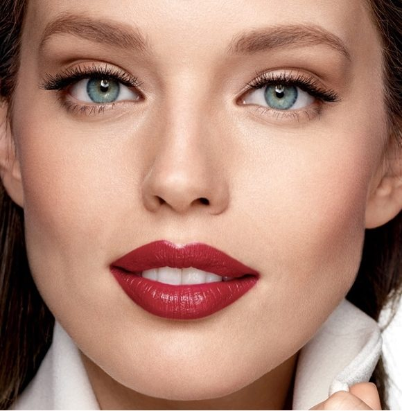 Make-up nach Herbst-Trends, Schritt für Schritt
